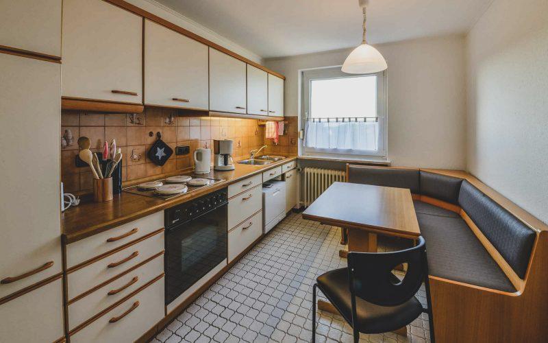 Bei Meiers zum weißen Roß - Ferienwohnung Küche