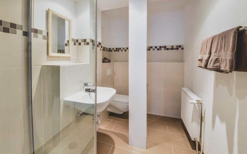 Bei Meiers zum weißen Roß - Hotel Königslutter modernes Bad