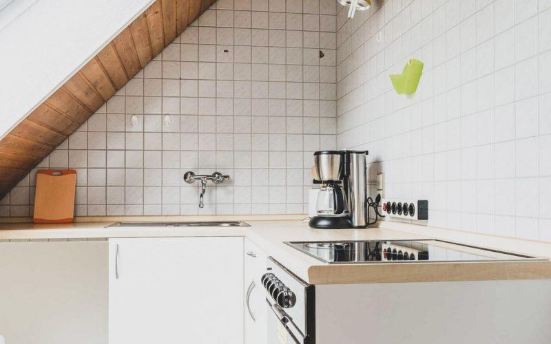 Bei Meiers zum weißen Roß - Küche Dachgeschoss